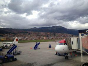 Cusco Airport Planes