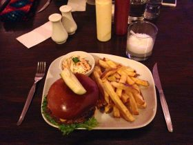 Fuego Alpaca Burger