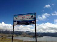 Laguna Lagunillas Sign