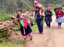 Lares Trek Day 3 Villagers