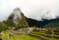 Machu Picchu view of Huayna Picchu