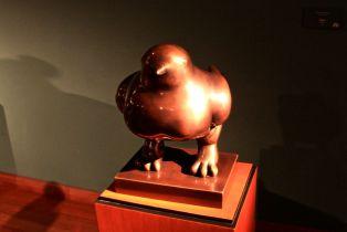 Museo Botero Bogota Bird Statue