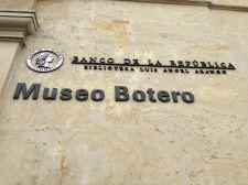 Museo Botero Bogota Sign