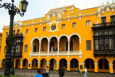 Plaza de Armas Lima Palace of the Union