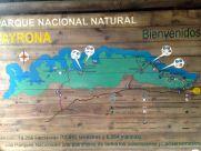 Tayrona National Park Sign