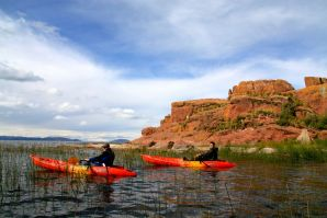 Titicaca Lake Kayaking