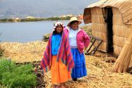 Uros Floating Islands Woman