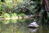 Algiers Le Jardin d'Essai du Hamma Water Statue