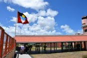 Antigua Airport Flag