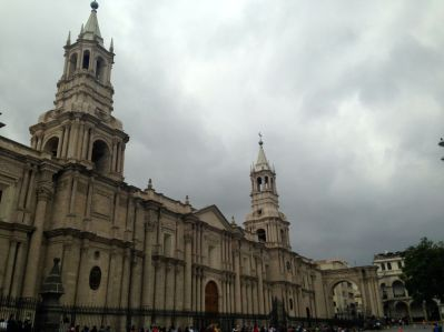 Arequipa Square Cathedral