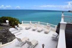 Blue Waters Antigua Rock Cottage Lounge Chairs