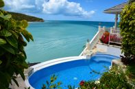 Blue Waters Antigua Rock Cottage Pool