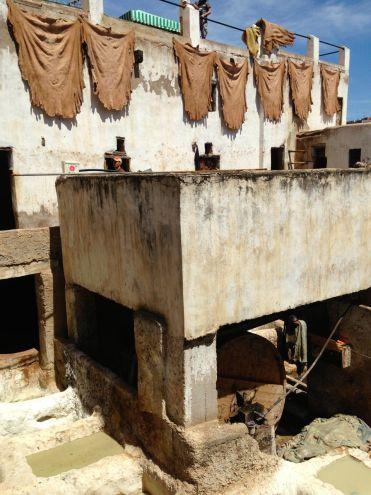 Chouwara Tanneries Chemical Bath