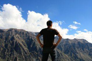 Colca Canyon David Look out