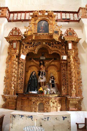 Colca Drive Church Statue