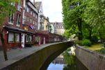 Dusseldorf Altstadt Canal