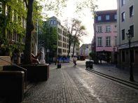 Dusseldorf Altstadt Street