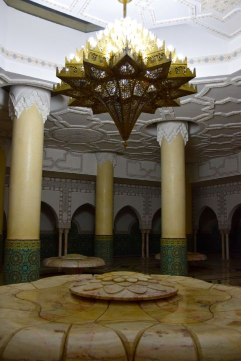 Hassan II Mosque Bath