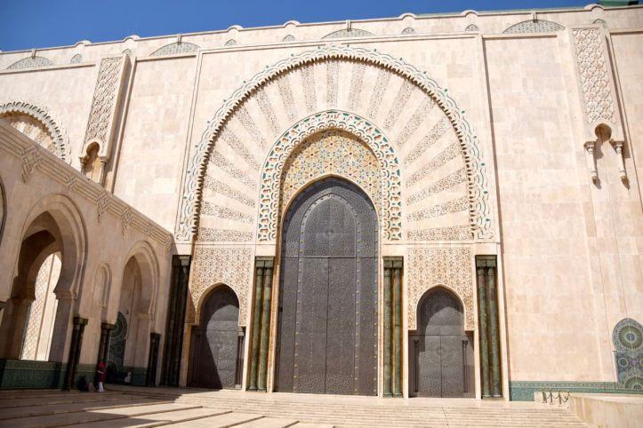 Hassan II Mosque Door