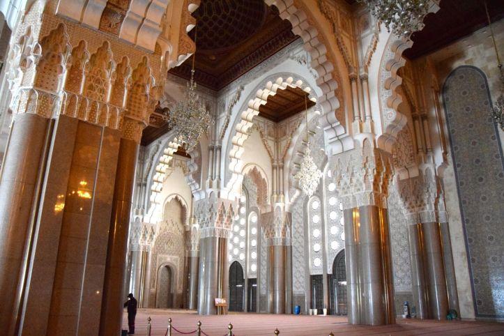 Hassan II Mosque Interior 2