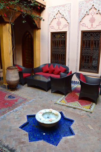 La Maison Arabe Courtyard
