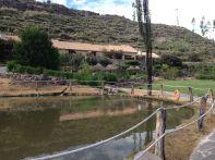Las Casitas del Colca Garden Pond