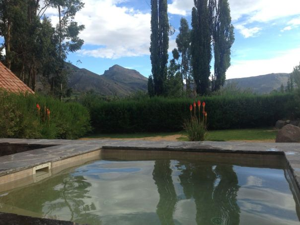 Las Casitas del Colca Room Hot tub