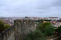 Lisbon Castelo de St Jorge Castle View