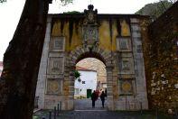 Lisbon Castelo de St Jorge Entrance