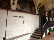 Monasterio Di Santa Catalina Confession Room