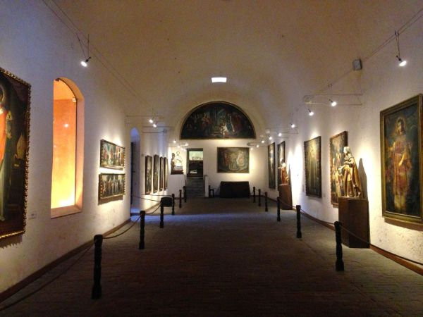 Monasterio Di Santa Catalina Exhibit Hall