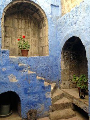 Monasterio Di Santa Catalina Stairs