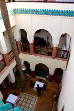 Riad Zamzam Courtyard