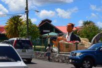 St Johns President Statue