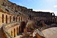 El Djem Amphitheater Side View