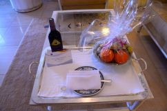 Hasdrubal Thalassa Junior Suite Fruit and WIne