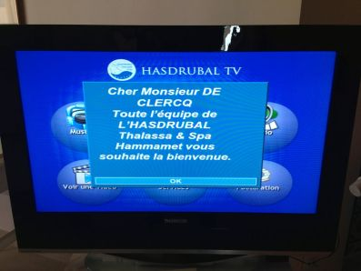 Hasdrubal Thalassa Junior Suite TV