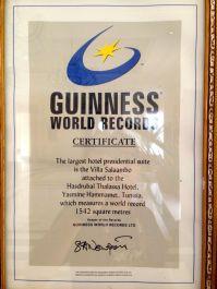 Hasdrubal Thalassa Presidential Villa Salambo Guinness