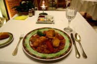 Hasdrubal Thalassa Restaurant Meal