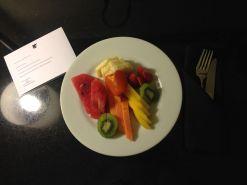 JW Marriott Rio De Janeiro Fruit Plate