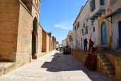 Kairouan Great Mosque Street