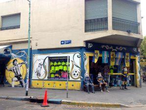Buenos Aires La Boca Boca Juniors Stadium Shop