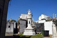 Buenos Aires La Recoleta Cemetery Satue