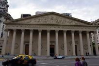 Buenos Aires Plaza de Mayo Metropolitan Cathedral Exterior