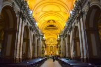 Buenos Aires Plaza de Mayo Metropolitan Cathedral Interior