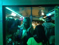 Buenos Aires Pub Crawl Party Bus Interior
