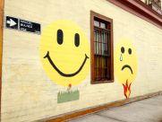 Iquique Baquedano Street Smiley