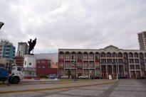 Iquique Baquedano Street Statue