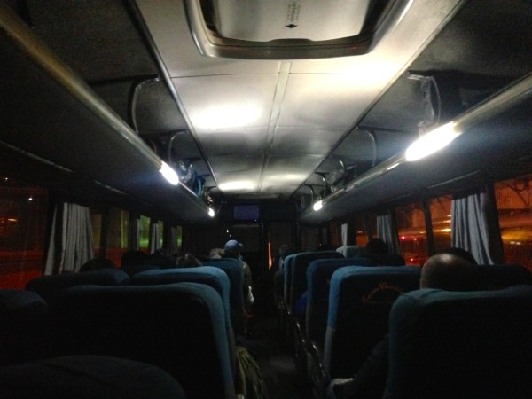 La Paz Bolivia Bus to Uyuni