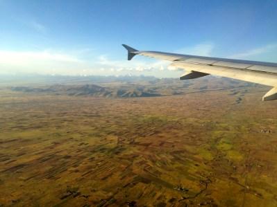 La Paz Bolivia Landing Fields